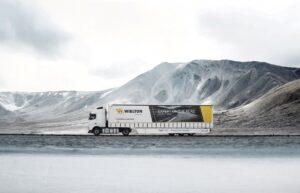 Maszoński Logistic testuje ekologiczną naczepę Wielton