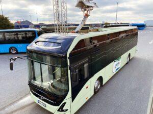 Nowy sposób ładowania autobusów elektrycznych Volvo