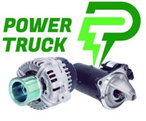 POWER TRUCK – marka alternatorów i rozruszników przeznaczonych do pojazdów ciężarowych