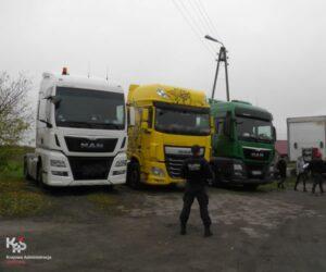 Firma transportowa jeździła na oleju żeglugowym