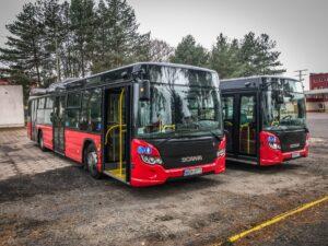Autobusy Scania w Jeleniej Górze