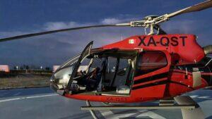 Dostarczyli helikopterem przesyłkę dla producenta samochodów