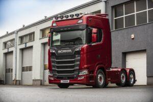 Pierwsza najmocniejsza Scania 770S w Polsce