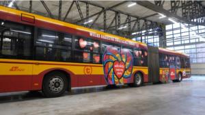 Autobus MZA na aukcji WOŚP