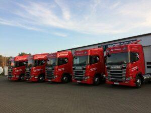 Zielona flota Scania w Słupsku