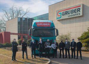 Iveco dostarczy 100 ciężarówek LNG firmie Gruber Logistics