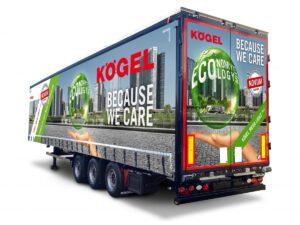 Kögel wprowadza nową naczepę Mega Lightplus