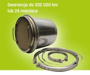 Regenerowane filtry cząstek stałych w AVA CEE