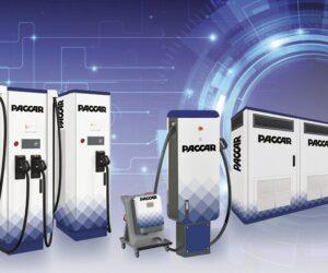 DAF wprowadza na rynek stacje ładowania do pojazdów elektrycznych