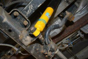 Modyfikacja zawieszenia w Fordzie Transit na bazie zestawu BILSTEIN B14