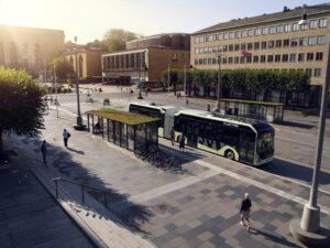 Volvo testuje autobusy elektryczne w trudnych warunkach