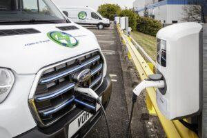 Trwają testy Forda E-Transit w Europie