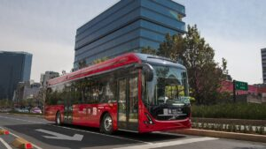 Volvo Buses testuje swój pierwszy w Meksyku autobus elektryczny