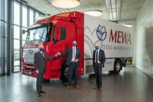 Pierwsza ciężarówka z napędem wodorowym w firmie MEWA