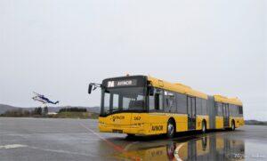 Autobusy Solaris za Kołem Podbiegunowym