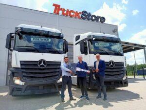 Używane Actrosy objęte programem Mercedes-Benz Certified