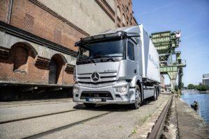 Mercedes-Benz Trucks pokazał elektryczny model eActros
