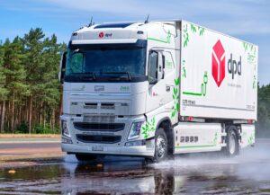 Continental testuje prototypy opon do elektrycznych ciężarówek na Contidromie