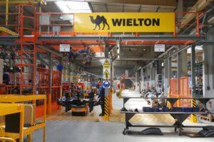 Wzrost produkowanych wolumenów o blisko 50% –  modernizacje w Wieltonie