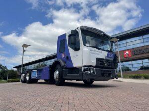 Renault zaprezentowało miejską ciężarówkę D Wide Z.E. LEC
