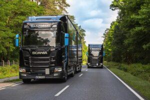 50 pojazdów Scania LNG dla Maszoński logistic