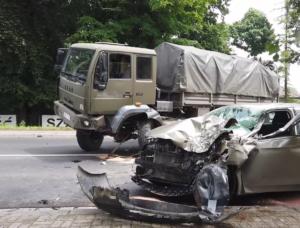 Niecodzienny wypadek w Głogowie