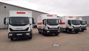 Iveco dostarczyło 43 sztuki Eurocargo dla Poczty Polskiej