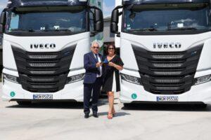 150 ciągników IVECO S-WAY LNG pojedzie w firmie Sachs Trans International