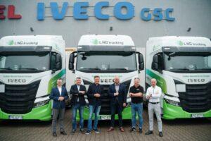 Don Trucking odebrał 20 ciężarówek IVECO S-WAY LNG