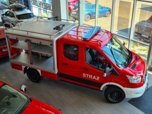 Ford Transit do zadań specjalnych dla straży pożarnej
