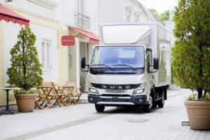 Rozpoczęcie sprzedaży nowego FUSO Cantera w Europie
