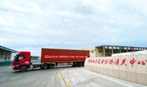 CEVA Logistics oferuje rozwiązania w transporcie lądowym z Chin z  wykorzystaniem kodów celnych e-commerce