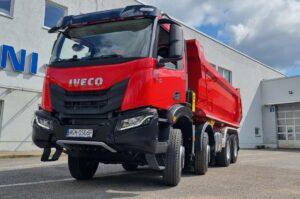 IVECO Poland przekazało firmie South Stream pierwszy w Polsce nowy pojazd IVECO T-WAY