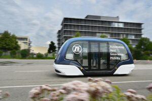 ZF dostawcą dla autonomicznych systemów transportu wahadłowego