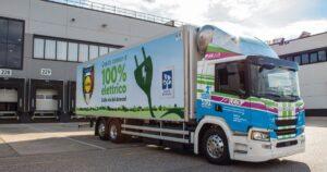 Pierwszy elektryczny pojazd ciężarowy w Lidl Italia