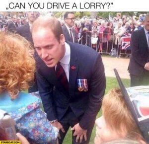 Can you drive a lorry? – czyli memy o brytyjskim kryzysie