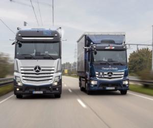 Daimler Truck uzyskuje homologację drogową dla samochodów ciężarowych z napędem na ogniwa paliwowe