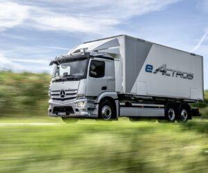 Rusza produkcja seryjna elektrycznej ciężarówki eActros